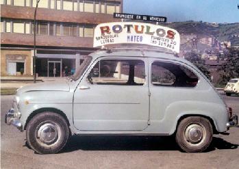 Historia de mateoRotulos coche publicitario