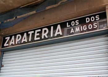Historia de mateoRotulos zapatería
