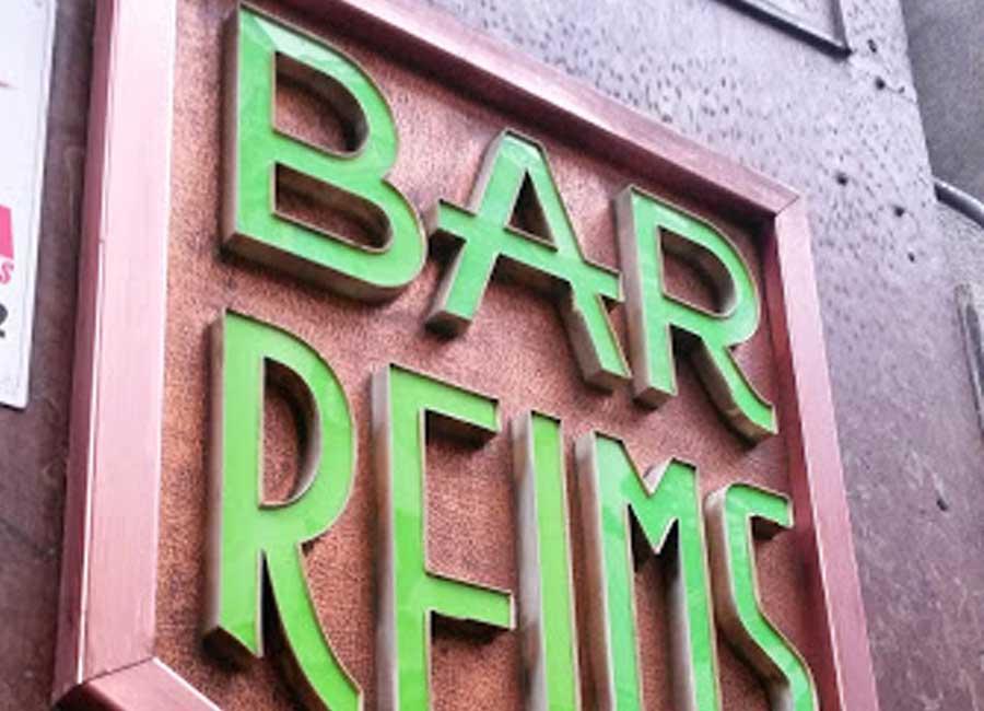 Letras corpóreas para tu bar de mateoRotulos